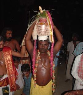 Sre Bhaaskharamaharishi with kalasam