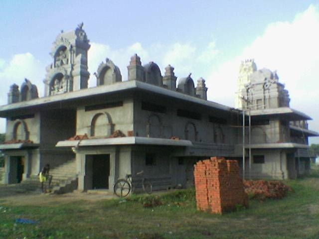 Side View Of Sre Kagabujandar Guru Temple